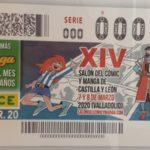 XIV Salón del Cómic y Manga de Castilla y León. Cupón ONCE conmemorativo