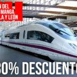 Descuentos ESPECIALES  RENFE 30% XIII del Cómic y Manga de Castilla y León