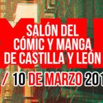¡Concurso de carteles! XIII Salón del Cómic y Manga de Castilla y León 9 y 10 de marzo de 2019
